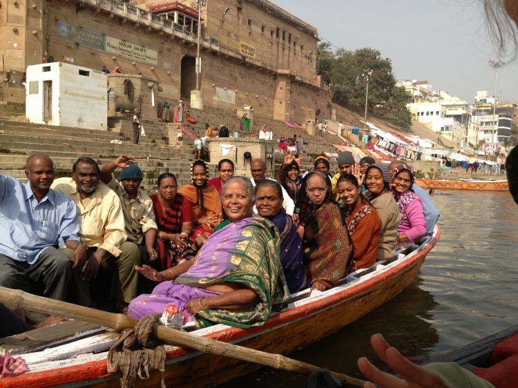 They photographed us as we photographed them. We were all Pilgrims to Kashi!
