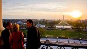 A beautiful evening in Washington