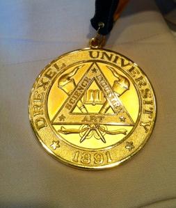 Drexel 100 Medal